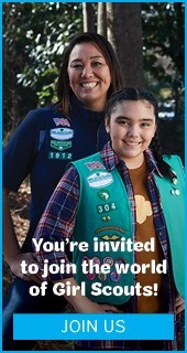 You're invited to join the world of Girl Scouts! Join Us