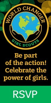 Be part of the action! Celebrate the power of girls. RSVP